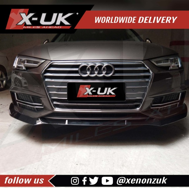 Front lip / splitter for AUDI A4 B9 S-Line / S4 2016 ...