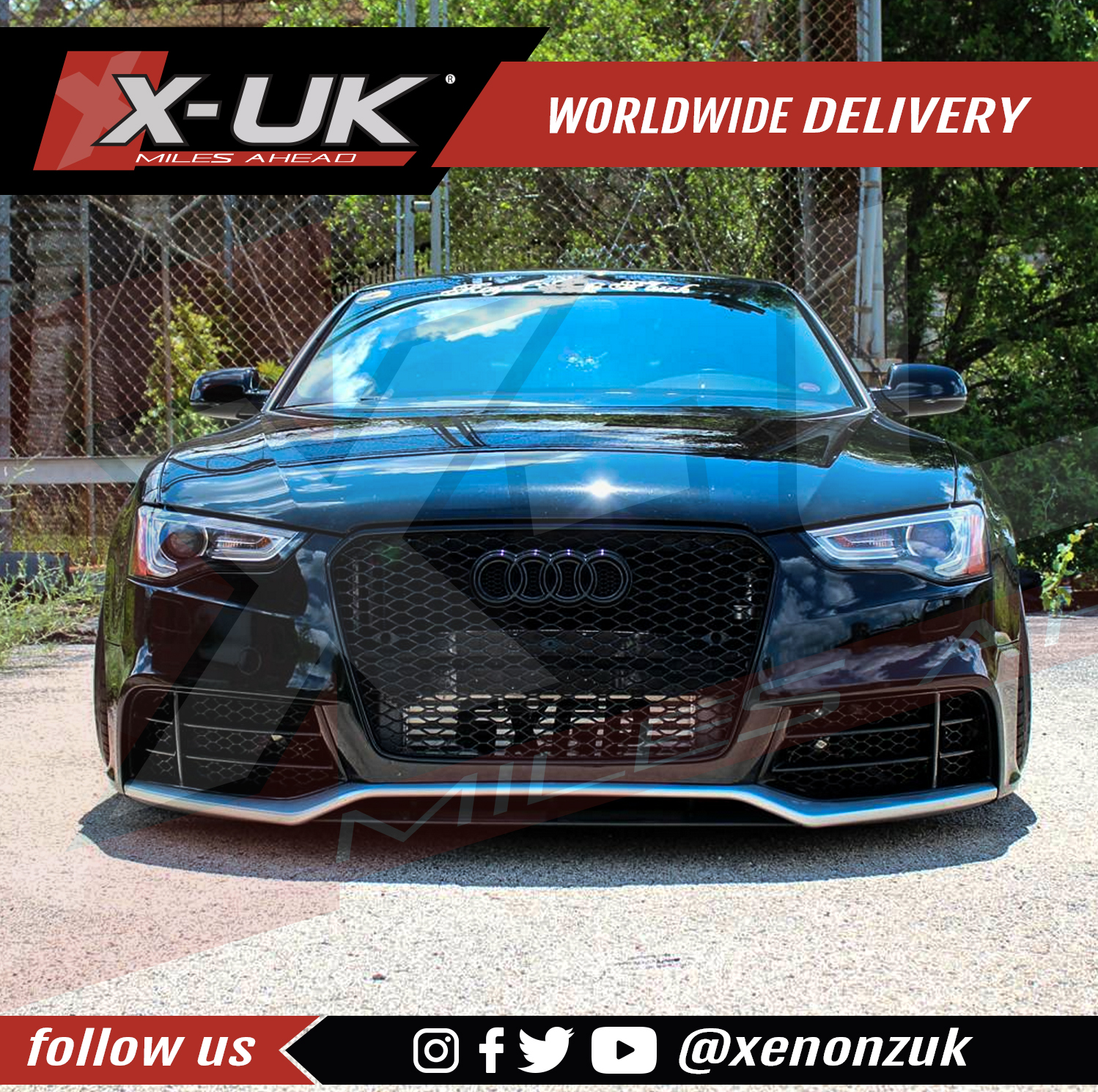 Audi A5 S5 2012 2015 To Rs5 Front Bumper Conversion