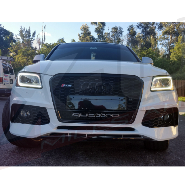 RSQ5 Style Front Bumper Conversion For AUDI Q5 / SQ5 2012
