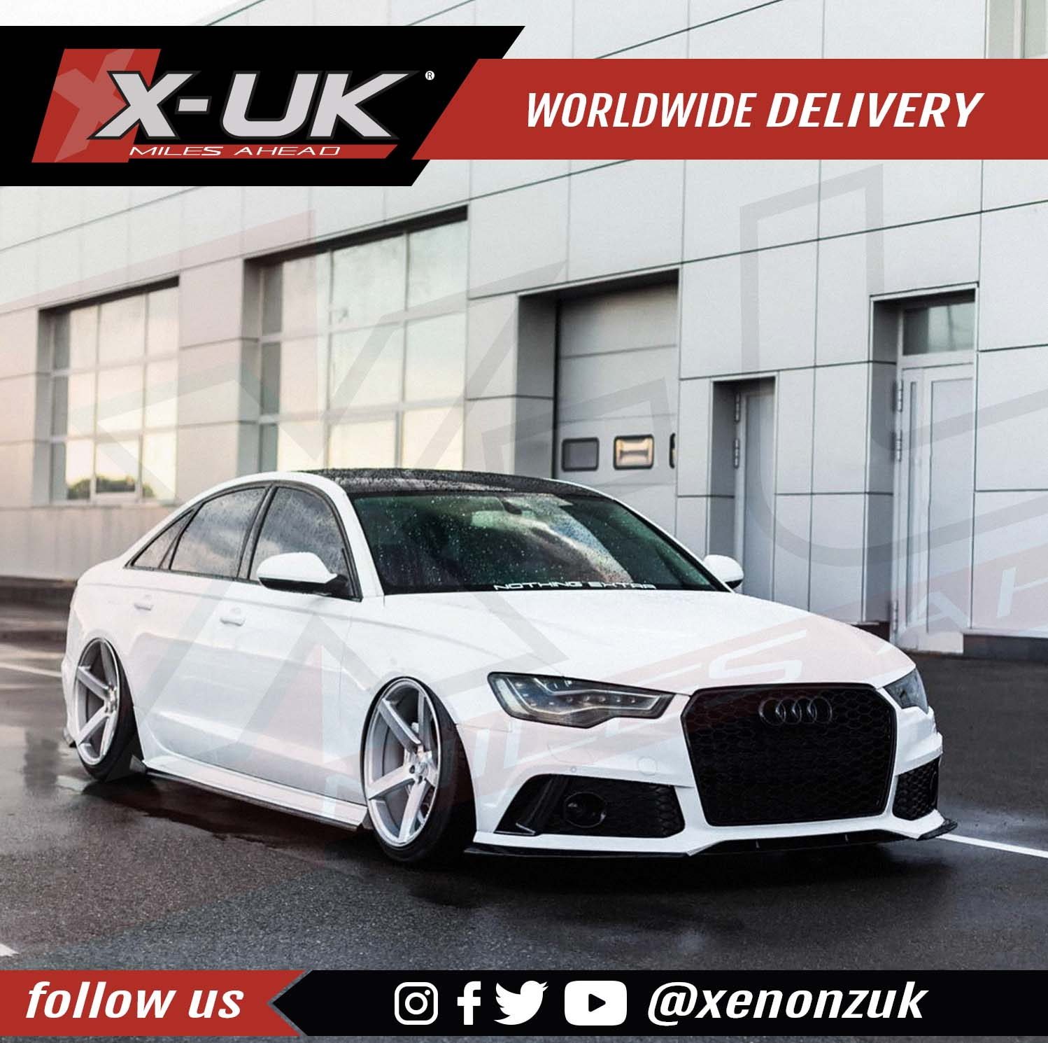 RS6 Style Front Bumper Conversion For AUDI A6 / S6 C7 2011