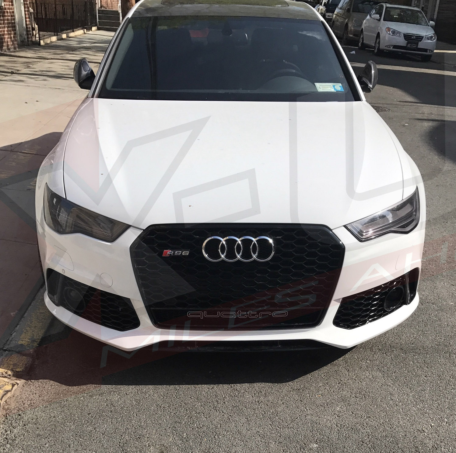 Front Bumper Conversion For Audi A6 / S6 2015+ TO RS6 C7