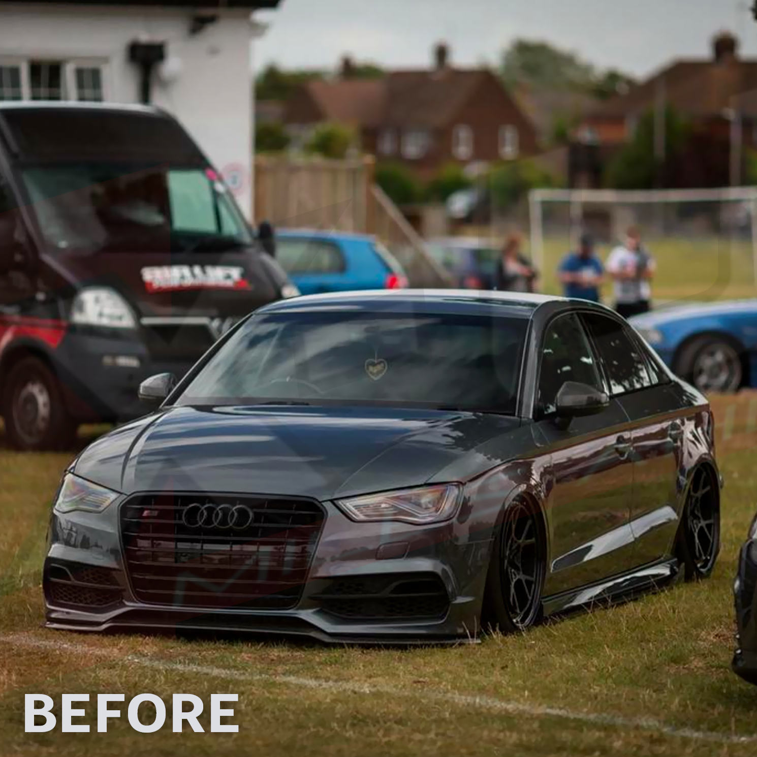 2016 8V Saloon To RS3 Front Bumper