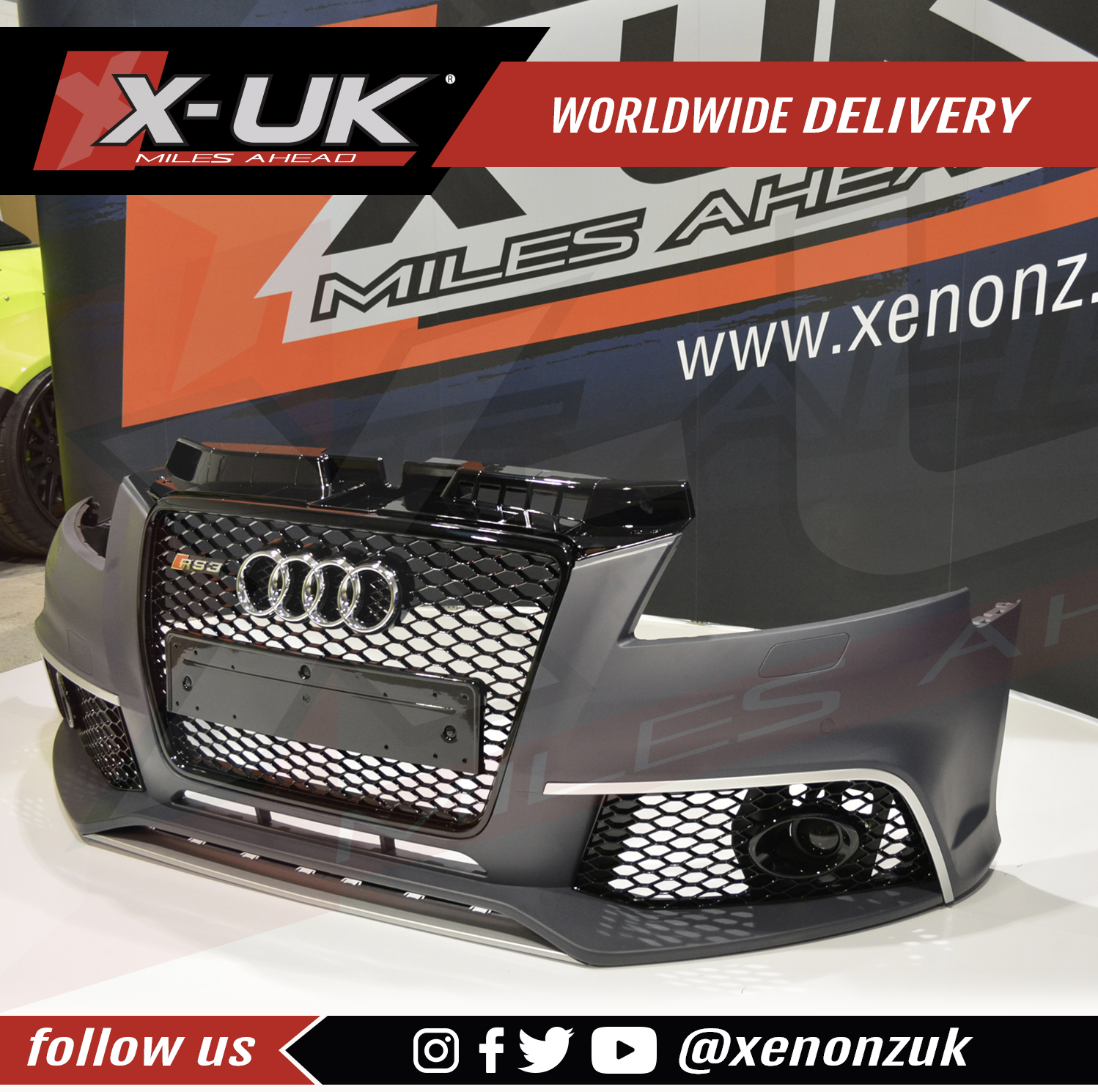 2012 To RS3 Front Bumper Conversion