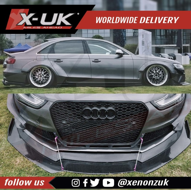Widebody Kit Conversion For AUDI A4 B8.5 2013-2015