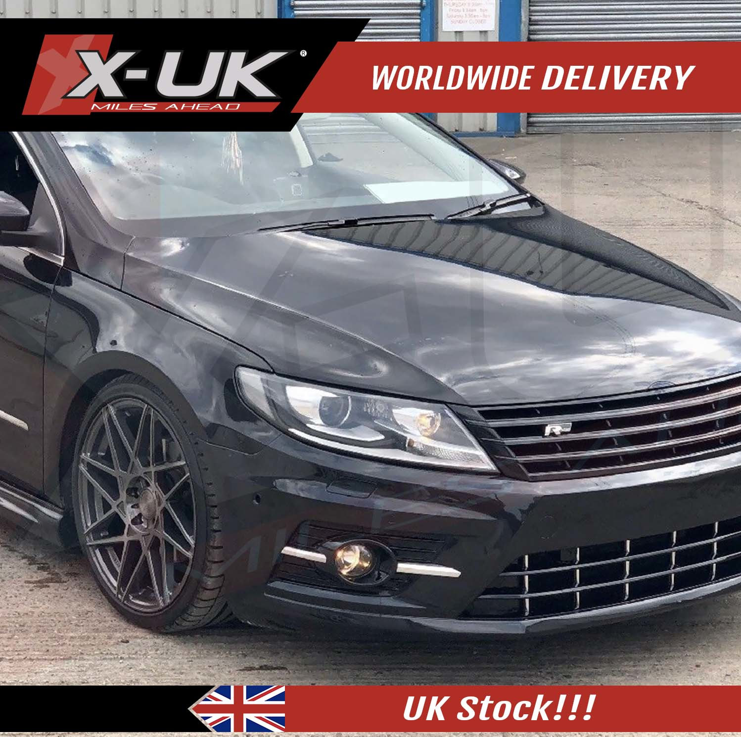 Vw Motor Swap Kits: VW Passat CC R-Line Style Body Kit Conversion