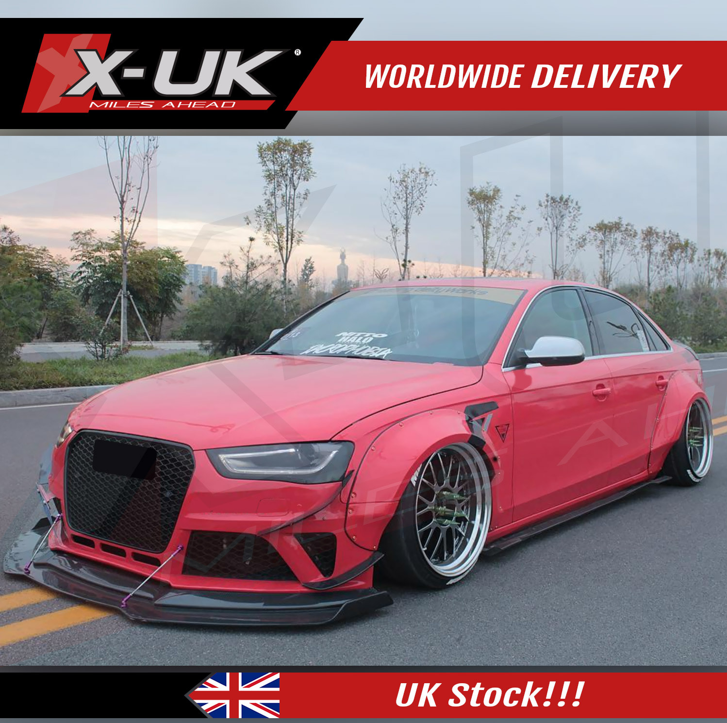 Can Light Conversion Kit >> Wide body conversion fenders for Audi A4 B8.5 2013-2015