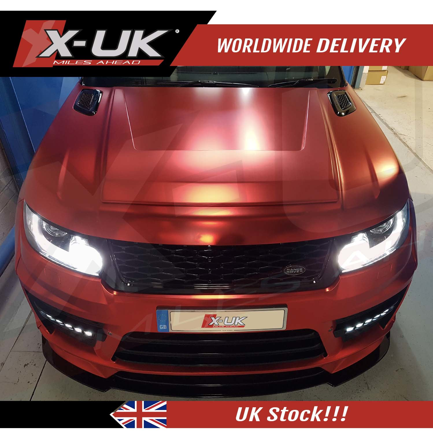 Range Rover L494 Sport X Uk Bonnet Vent Add On