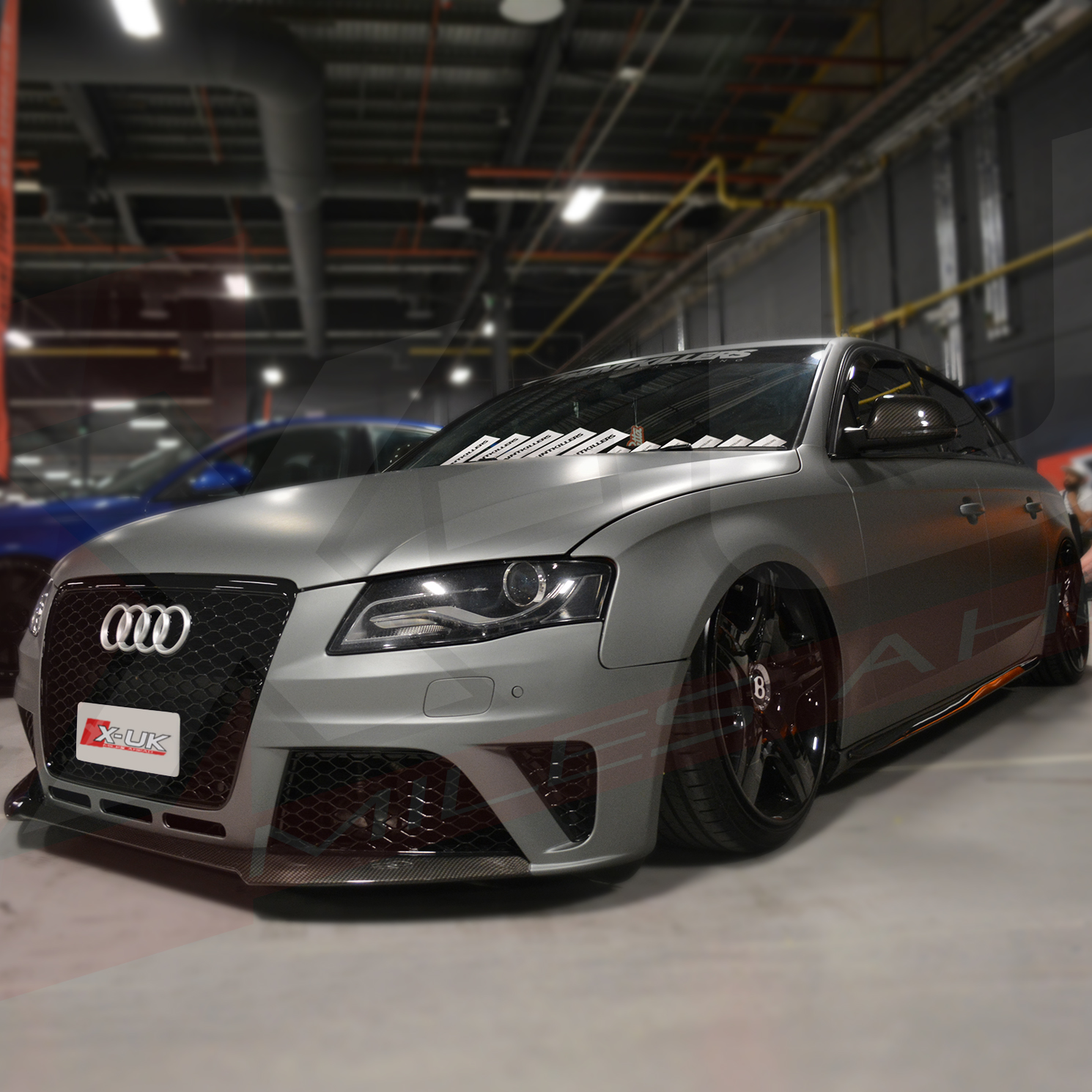 Rs4 Style Front Bumper Conversion For Audi A4 S4 Quot B8