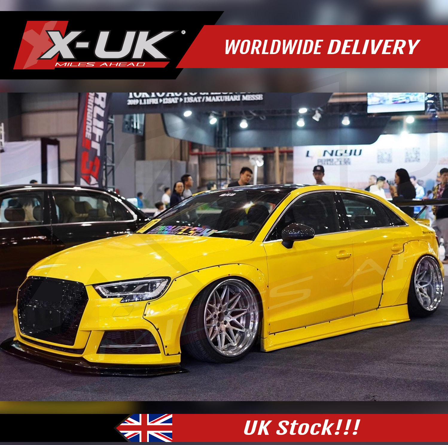 audi a3 s3 8v 2016 2019 wide body conversion. Black Bedroom Furniture Sets. Home Design Ideas
