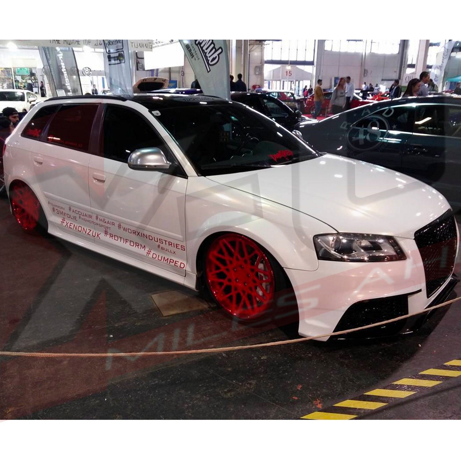 RS3 Style Front Bumper Conversion For AUDI A3 / S3 2009