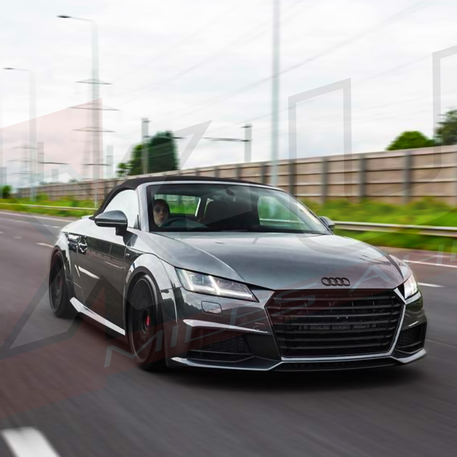 Audi A5 2018 >> TTS style front grill black and silver for Audi TT / TTS ...