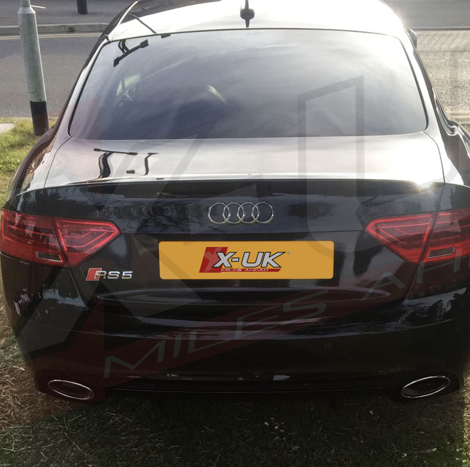 """Audi Plate Frame >> RS5 style rear bumper upgrade for Audi A5 / S5 2007-2015 """"coupe / convertible"""""""