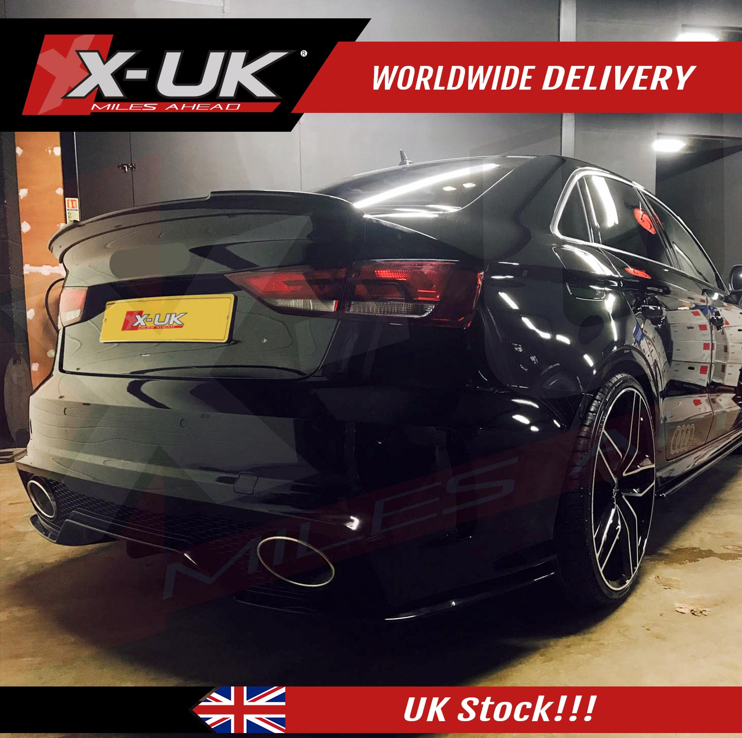 Club sport style body kit conversion for AUDI A3 / S3 8V