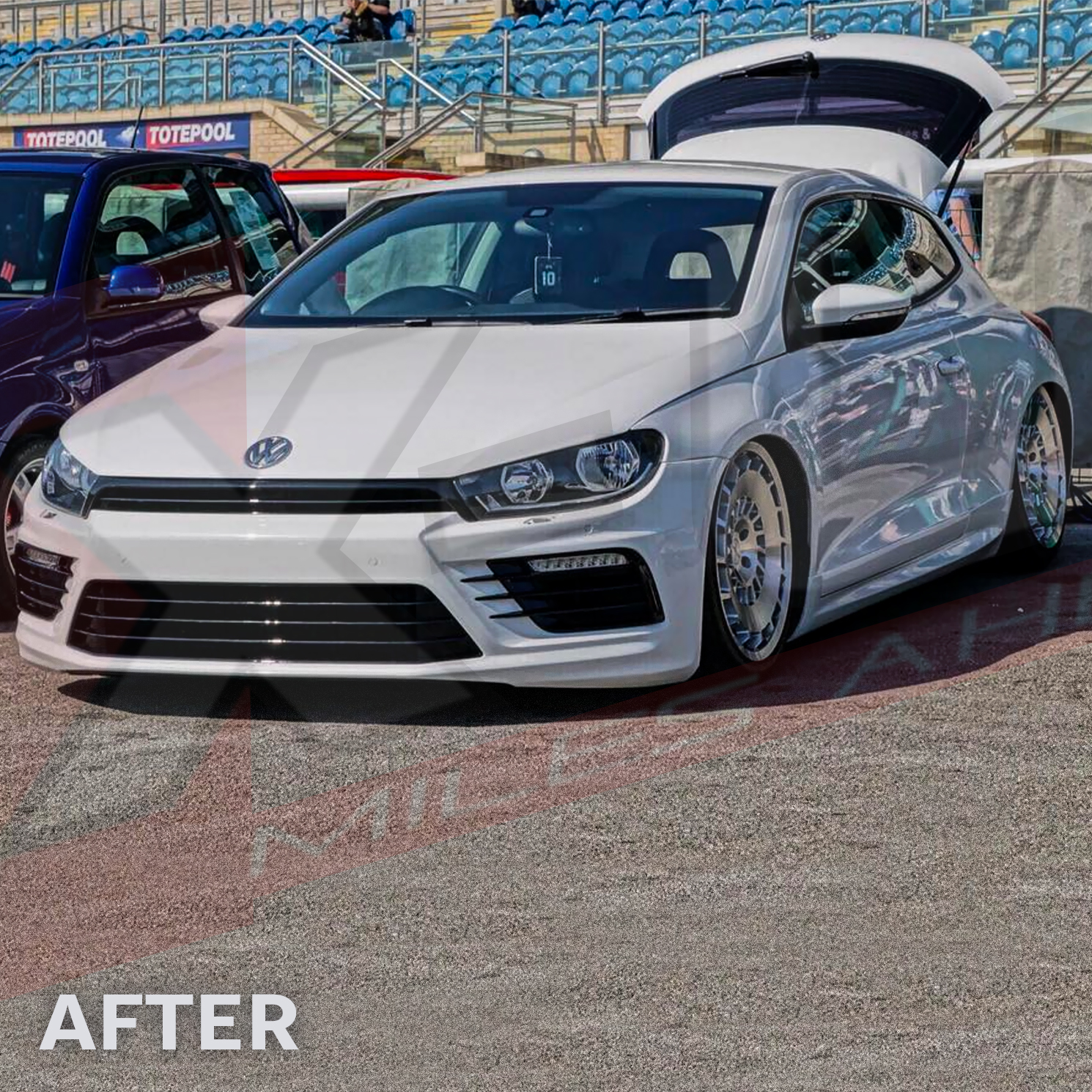 Scirocco R Style Bodykit Conversion Front Sides Rear